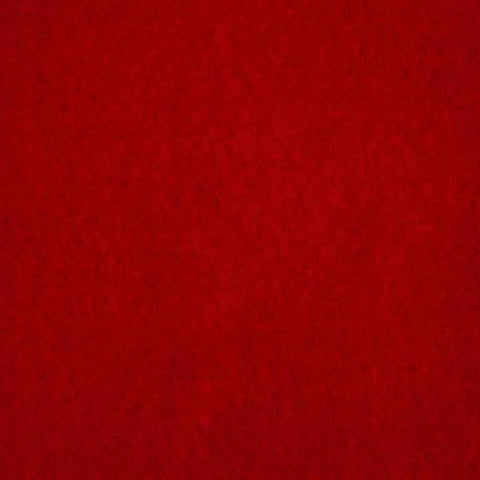 Pre-Felt Batt (Commercially Made) - Scarlet