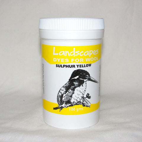 Sulphur Yellow Landscapes (Originals) Dye