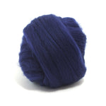 Tanzanite Dyed Merino Tops