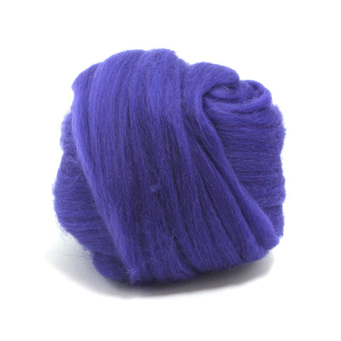 Ultra Violet Dyed Merino Tops