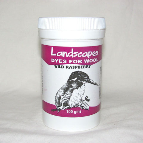 Wild Raspberry Landscapes (Originals) Dye