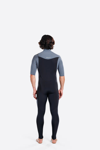 Adelio 2/2 Short Arm Steamer Charcoal Wetsuit
