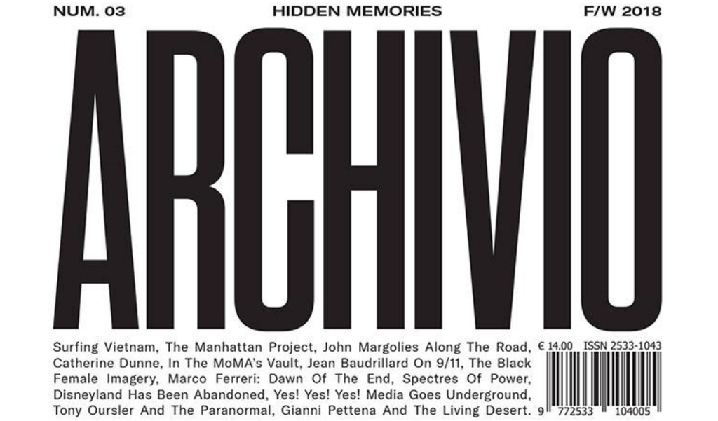 Archivio n.3 - The American Issue - Frab's Magazines & More