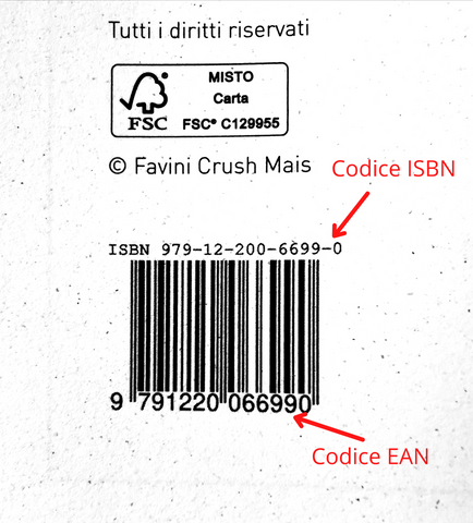 ISBN code example Frab's