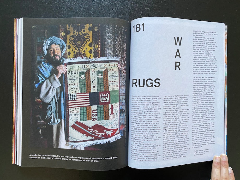 MafGuffin magazine The Rug