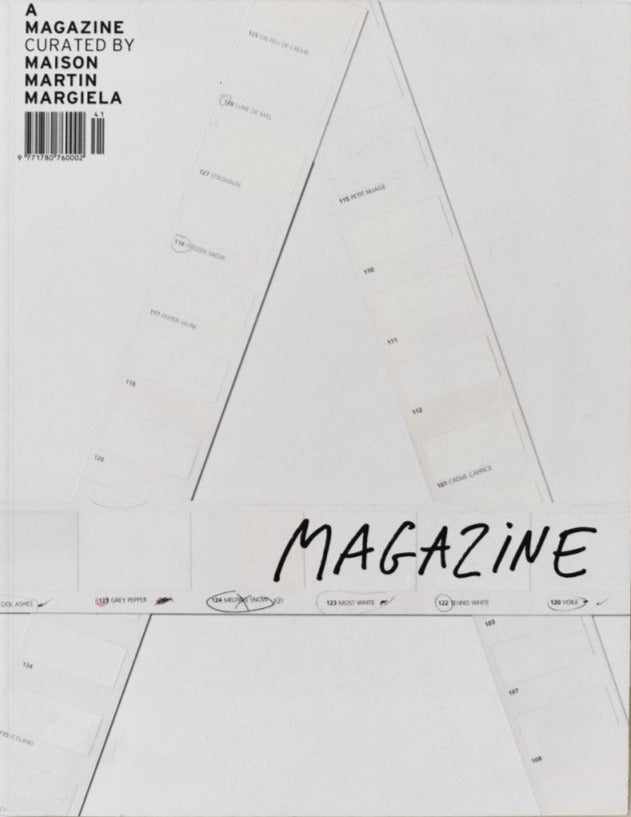 A magazine curated by n. 1 Maison Martin Margiela
