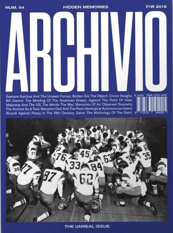 Archivio magazine issue 4 è disponibile su Frab's
