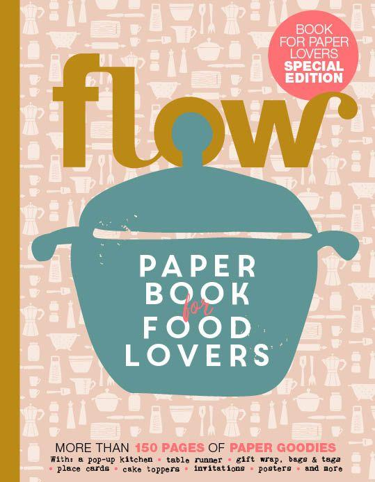 Flow Paper Book for Food Lovers - Frab's Magazines & More