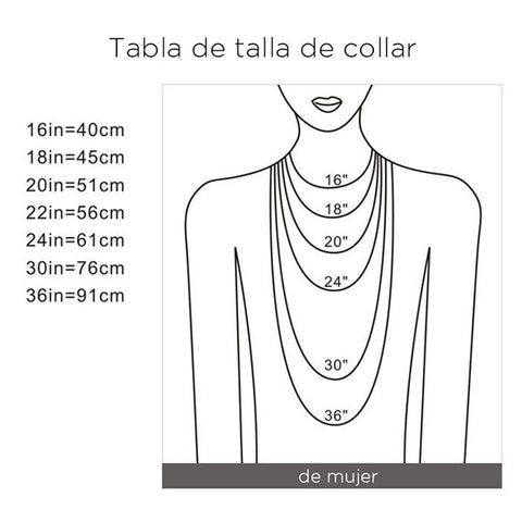 TALLAS COLLARES