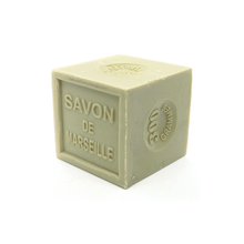 Load image into Gallery viewer, Olive oil Marseille soap cube green 300g - SoapYard