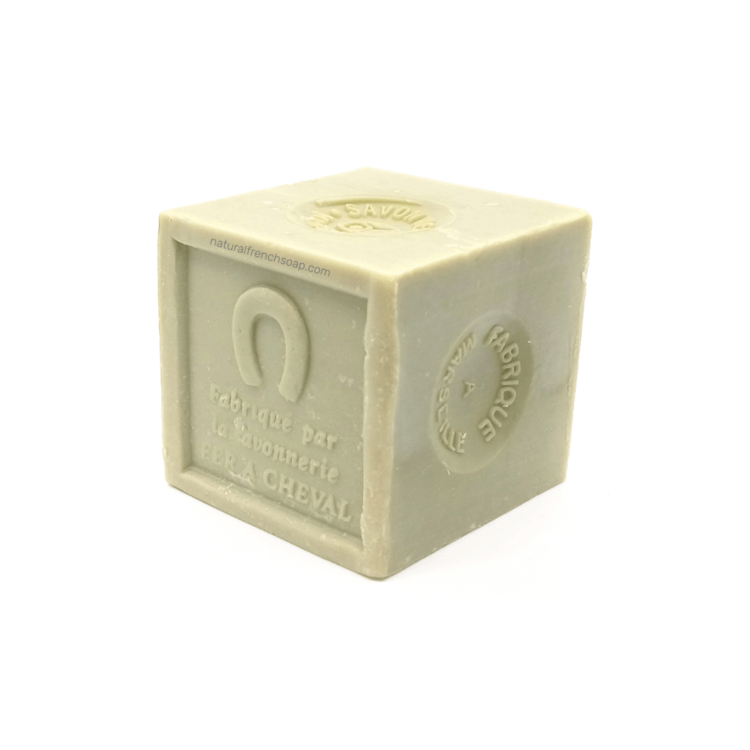 Olive oil Marseille soap cube green 300g - SoapYard