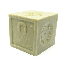 Load image into Gallery viewer, Olive oil Marseille soap cube green 600g - SoapYard