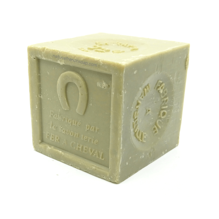 Olive oil Marseille soap cube green 600g - SoapYard