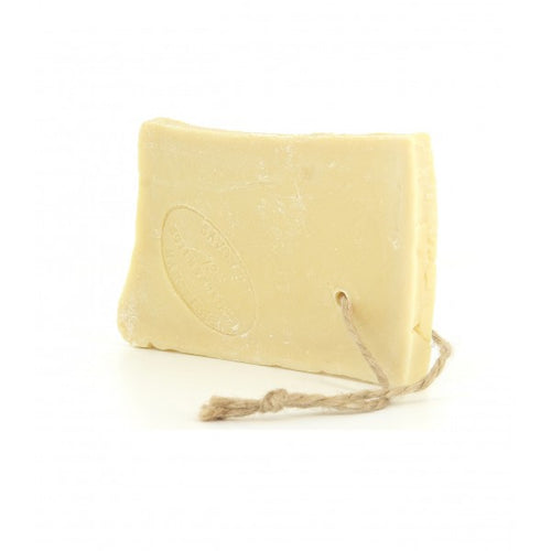 Slice of Marseille soap on rope 300g - SoapYard