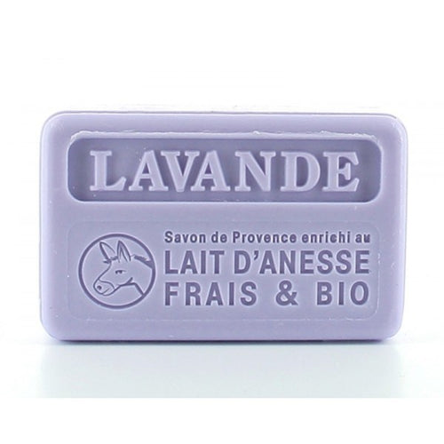 Lavender with organic donkey milk  100g  (not vegan) - SoapYard