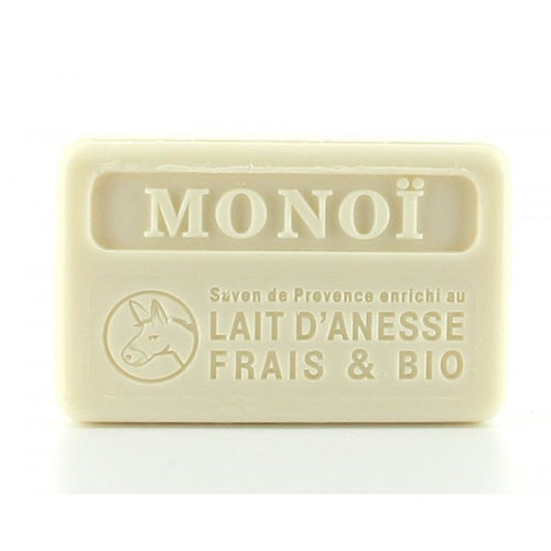 Monoi with organic donkey milk 100g (not vegan) - SoapYard
