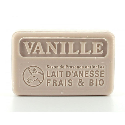 Vanilla with organic donkey milk  100g  (not vegan) - SoapYard
