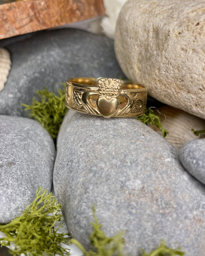 Story of Galway Claddagh Gold Ring