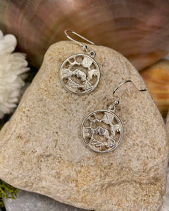 Story of Galway Sterling Silver Openback Earrings