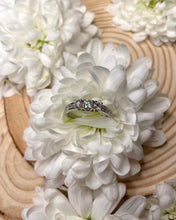 Load image into Gallery viewer, Three Diamond Engagement ring