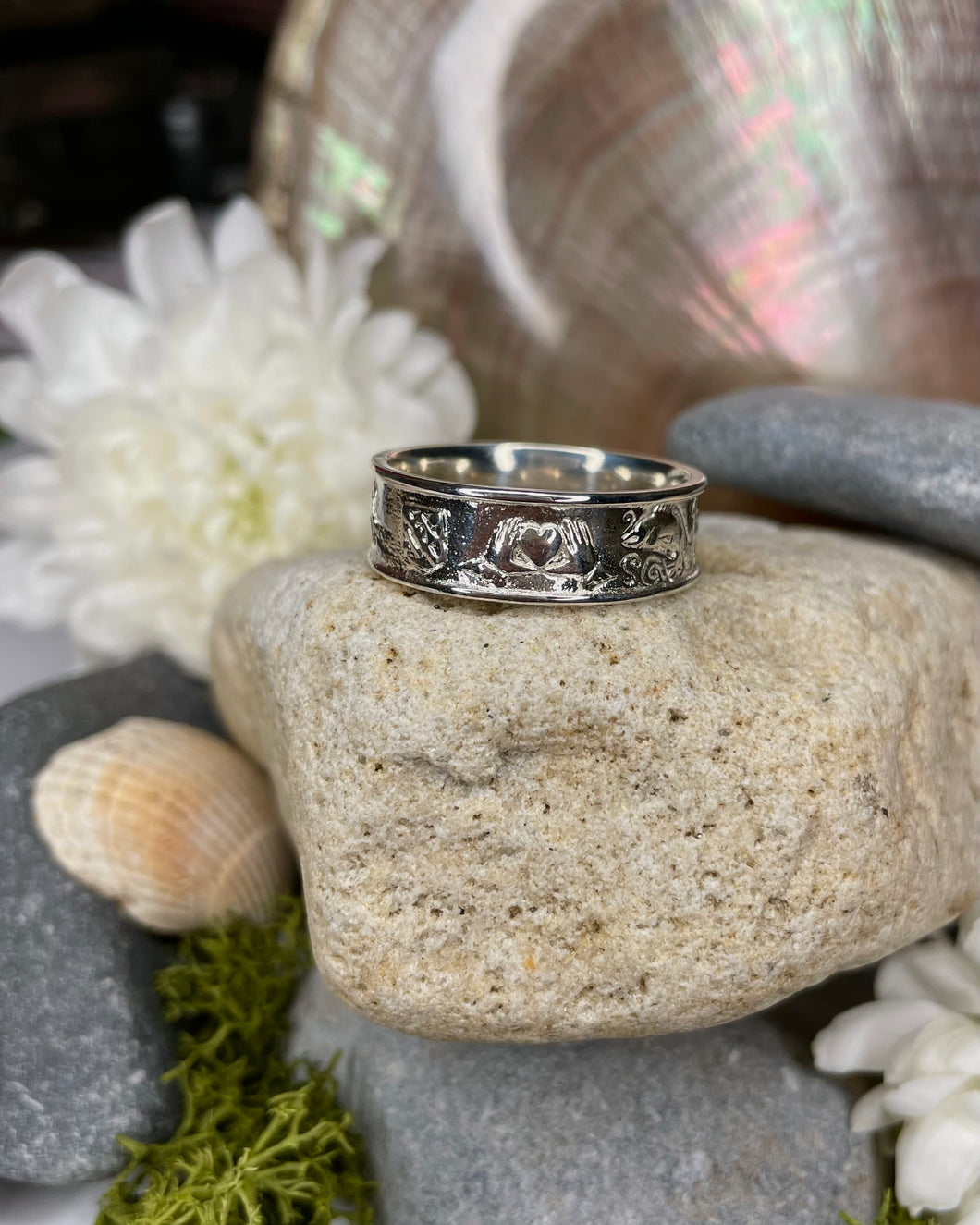 Story of Galway Sterling Silver Ring