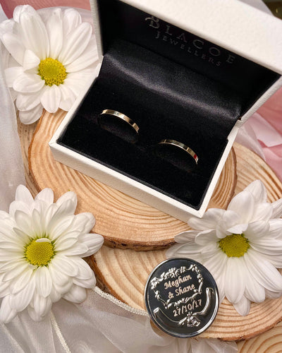 OFFER - Matching 3mm 9ct Yellow Gold Rings