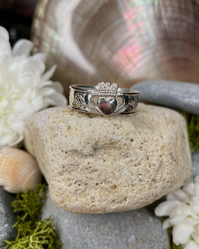 Story of Galway Claddagh Sterling Silver Ring