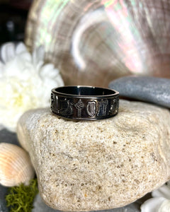 Ring of Ireland Black Rhodium