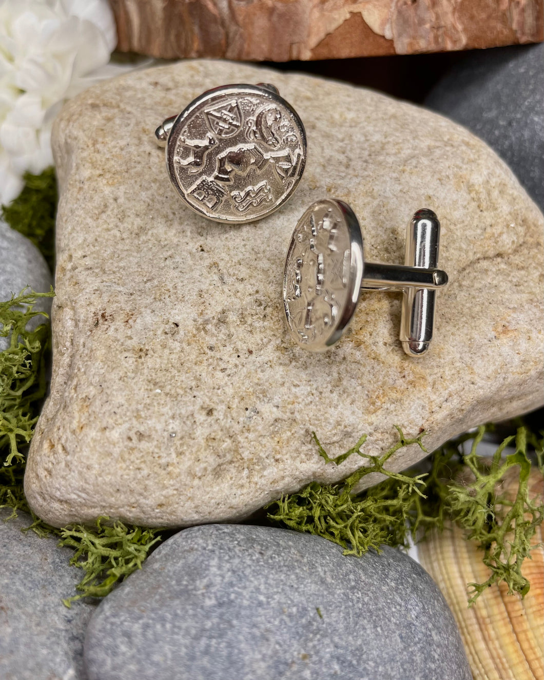 Story of Galway Sterling Silver Cufflinks