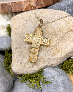 Story of Mayo 18ct Cross