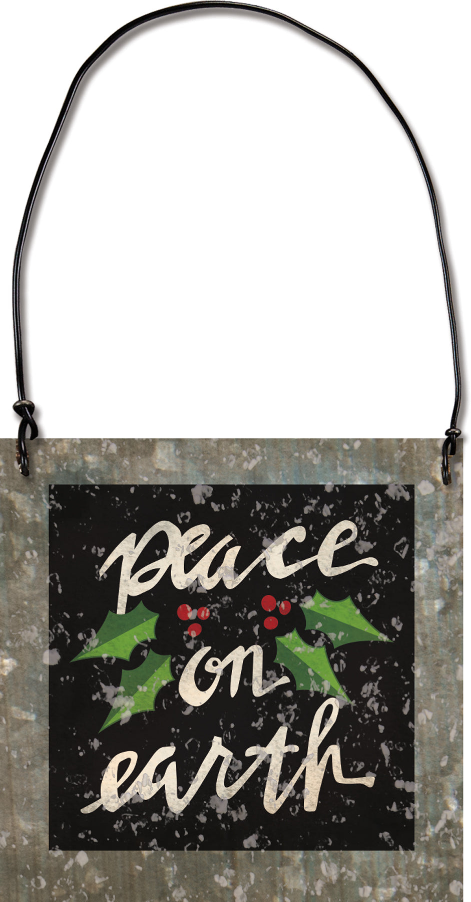 Peace on Earth Ornament