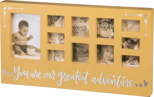 Greatest Adventure Frame in Yellow