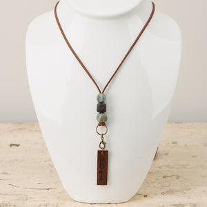 Diffuser Leather Lanyard