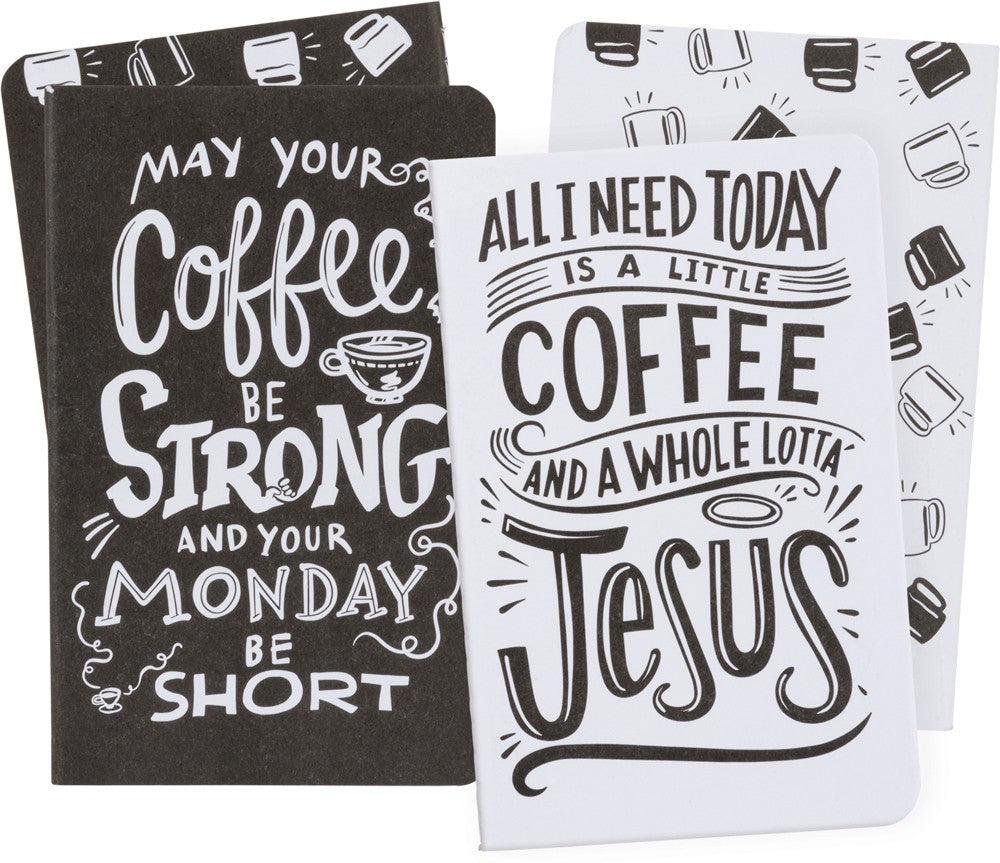 Coffee Notebook Set