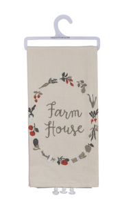Farm House Dish Towel