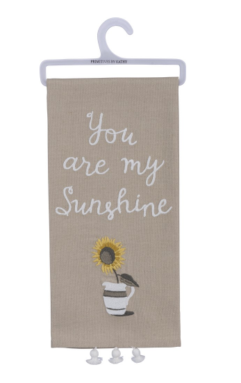 You Are My Sunshine Dish Towel
