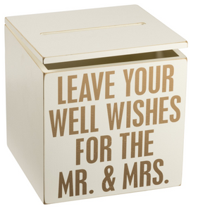 Card Box for Mr. & Mrs.