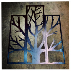 Metal Tree Garden Art