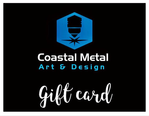 Gift Card - Metal Art