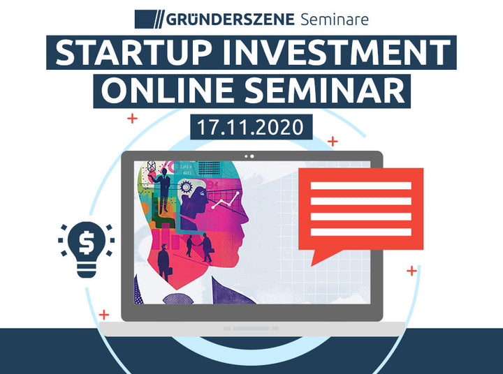 Startup Investment Online Seminar, November 2020