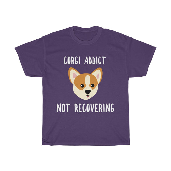 Corgi addict shirt