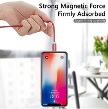 Load image into Gallery viewer, Magnetic USB Cable Fast Charging With USB Type C or Micro USB Plug