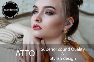 ATTO X IPX-6 Waterproof Wireless Earbuds + Gift