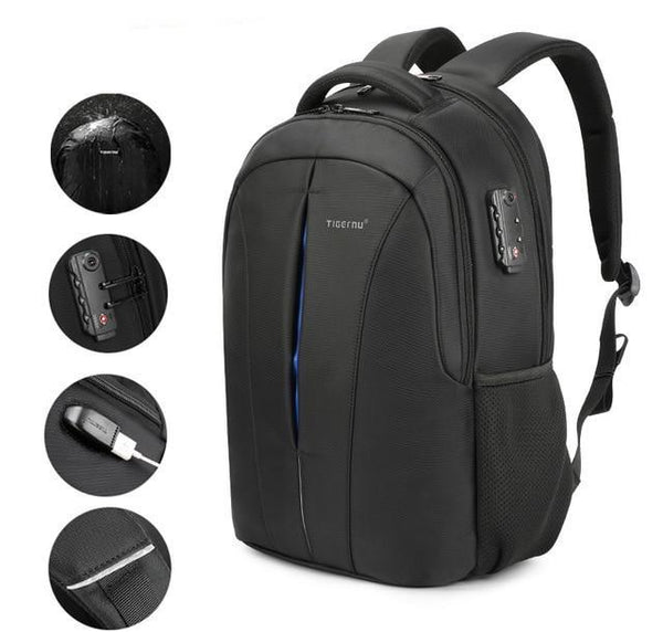 Waterproof 15.6inch Laptop Backpack TSA Anti Theft