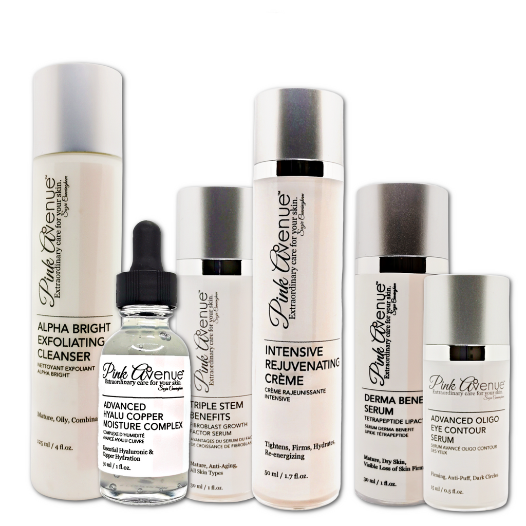 best antioxidant face serums and creme, Pink Avenue Skin Care, Toronto, ON