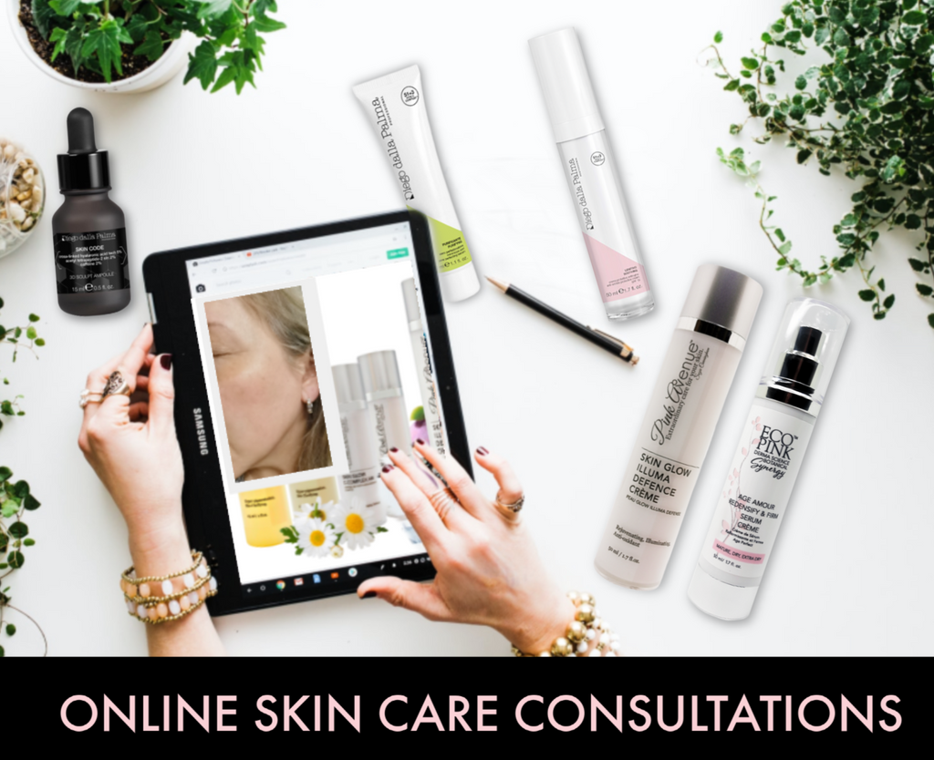 Free online skin care consultations, Pink Avenue, Toronto, ON