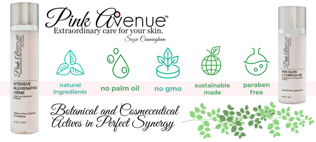 best botanical and cosmeceutical skin care, Pink Avenue, Toronto, ON