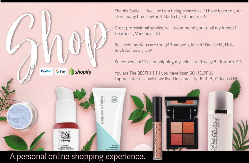 best online shopping for skin care, Pink Avenue, Toronto, ON