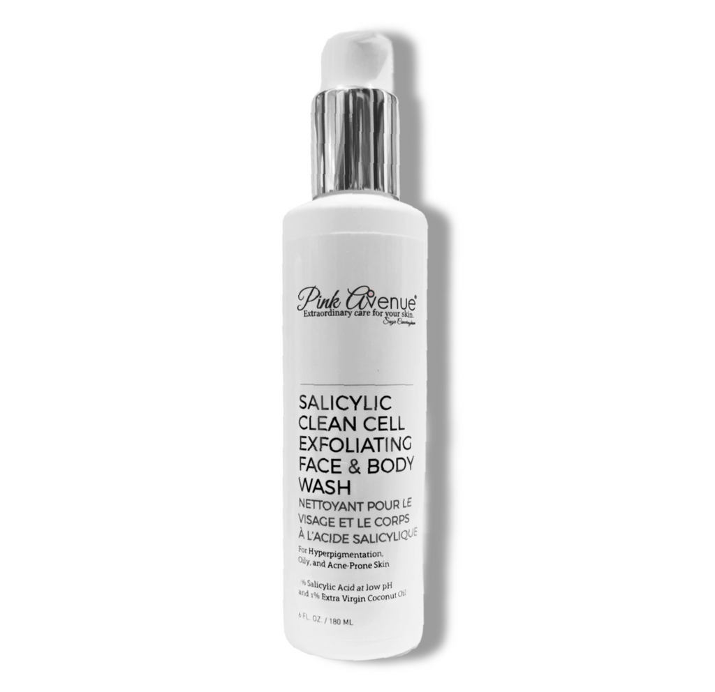 Salicylic Clean Cell Exfoliating Face & Body Wash 180ml