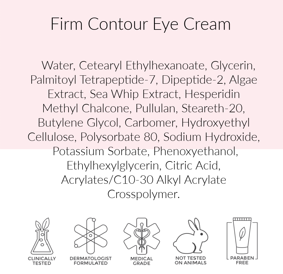 Pink Avenue Firm Contour Eye Creme, Pink Avenue
